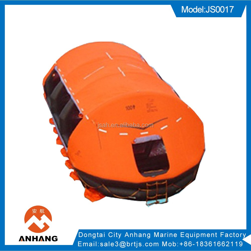 manufacture 10 person inflatable life raft