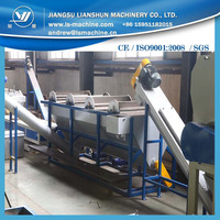 2015 hot sale pet bottle recycling washing production line