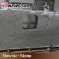 Newstar affordable polished solid surface prefab granite table