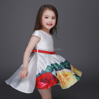 wholesale beautiful custom top quality dress birthday child baby dress model