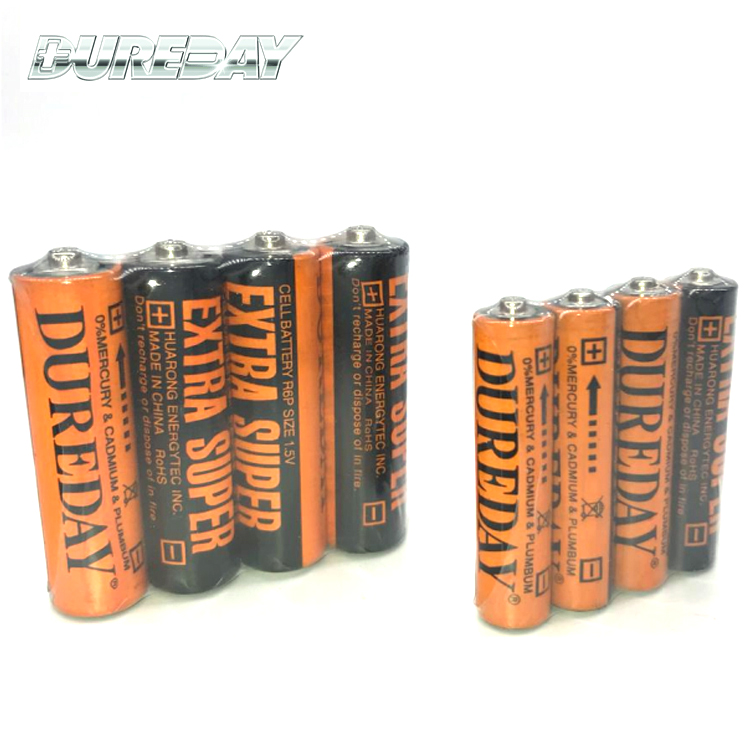 DUREDAY 460 MAH r6 aa size dry cell battery