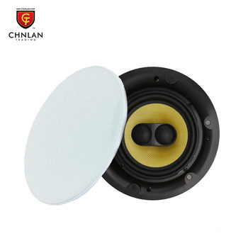Home Theater Sound System 8ohm 40w Dual Tweeter Magnet Mount Frameless HIFI in Ceiling Speaker