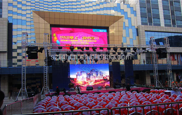 Stage Video Background Outdoor P13.33 LED Display Sign Board
