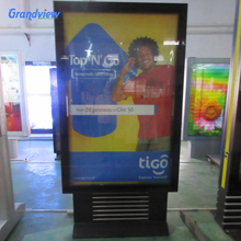 Store shop advertisement electronic 3d led standing signboard