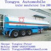 Oil Tanker Semi Trailer Manufacturer Tongya/Oil Tanker Truck Trailer For Sale/3 Axles Oil Tanker Trailer