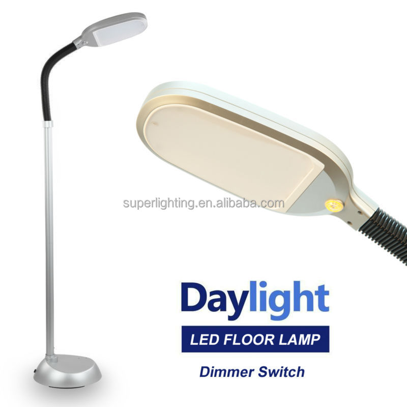 Dimmable natural light led reading floor lamp buy led for Natural light reading floor lamp