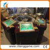 6 Player Touch screen Operating mode roulette game table indoor amusement games casino roulette wheel