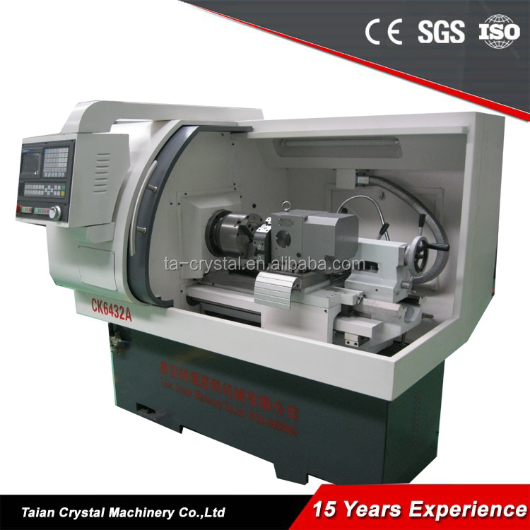 High Speed Horizontal CNC Lathe Cheap Lathe Machine CK6432A