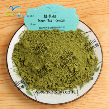 Pure green tea extract capsules