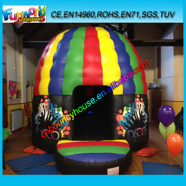 2015 Hot inflatable disco bouncer/ custom disco bounce party house/ inflatable jumping bouncer manufacturer