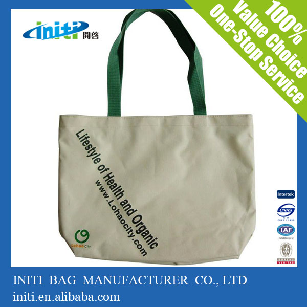 Manufacturer Custom Printed Bulk Canvas Totes for Traveling