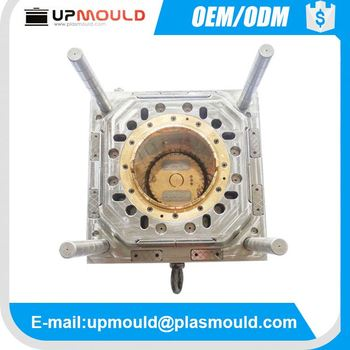 customization plastic bucket mould bucket mould cold runner or hot runner