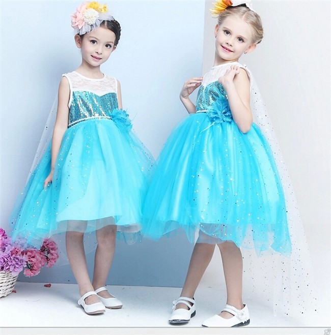 Sequin beaded dress cheap frozen elsa dress,frozen dress,elsa dress cosplay costume in frozen
