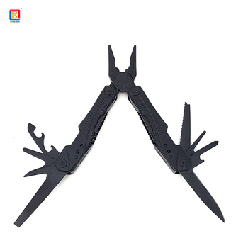 2018 High quality portable multi purpose tool pliers with folding knife 14 functions with wire cutter,screwdriver