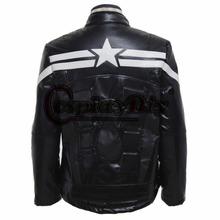 Movie Marvel's The Avengers Captain America Jacket Adult Men Cosplay Costume Custom Made
