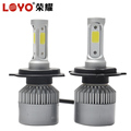 High quality 80W 9000LM all in one COB led headlight bulbs H4 H7 H11 factory price