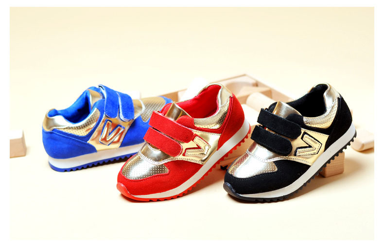 2015 High Quality Fashion Girls&Boys Athletic Shoes For Spring&Autumn