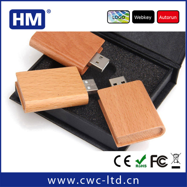 customized android tablet usb driver with wood material