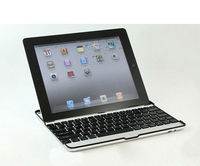 Aluminum Wireless Bluetooth Keyboard Cover Case Base for Apple iPad 2 3 4