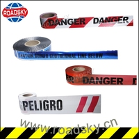 Cheap Electric Cable Undergroud Detectable Warning Tape