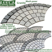 Garden stone granite grey stone brick pavers