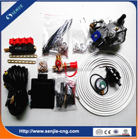 4cyl conversion kit LPG gas equipment for cars