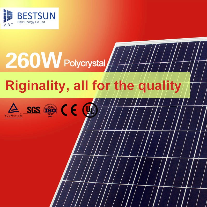 260W Polycrystalline Solar Panel Pv Module/cheap solar cell for sale/solar panel price list