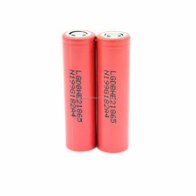100% Authentic LG HE2 18650 2500mAh 35A 20A Li-ion rechargeable battery 18650 lg he2 HE4 20A 2500mAh battery use for power tools