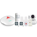 Wireless security Cheap product WiFi PSTN alarm system & App controlled wireless security alarm system WiFi network
