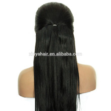 Top quality Chinese Virgin hair Silky straight wholesale cheap human hair full lace wig