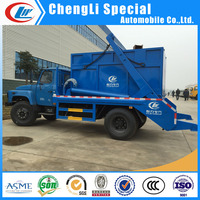 Sealed dump garbage truck garbage compactor truck for sale