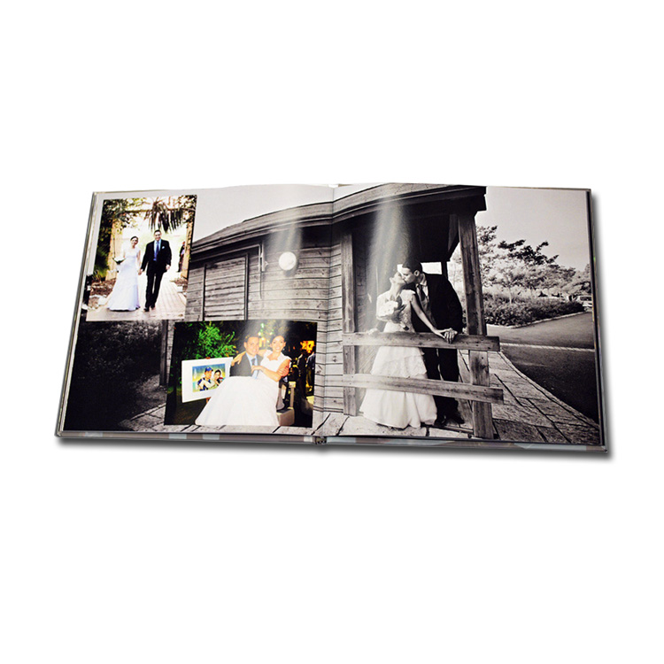 china wholesale digital album printing hardcover wedding photo <strong>book</strong>