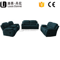 High back recling sofa with electric made in china