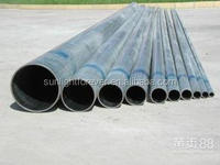 Structure Building Materials ! Galvanized Pipe And Tubes Q195 Hot Dip Galvanized Steel