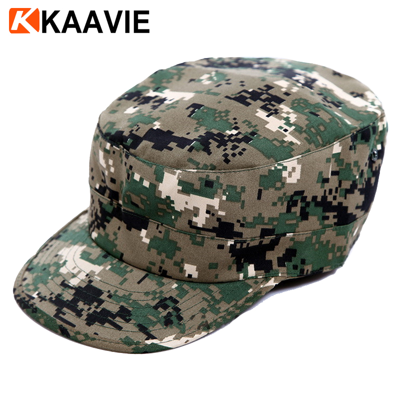 New Men/'s Classic Distressed Vintage Army Military Cadet Patrol Castro Caps Hats