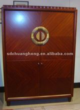 CH-W005 hotel bedroom wardrobe /2-door wardrobe /wooden cupboard
