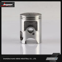 Casting &Aluminum piston RX100 spare parts for Yamaha motorcycle