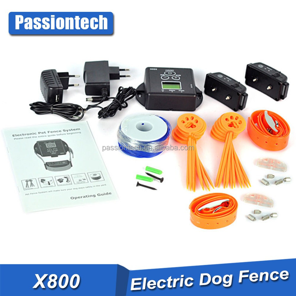 Waterproof In-Ground Electronic 2 Dog Pet Rechargeable Fence Containment System