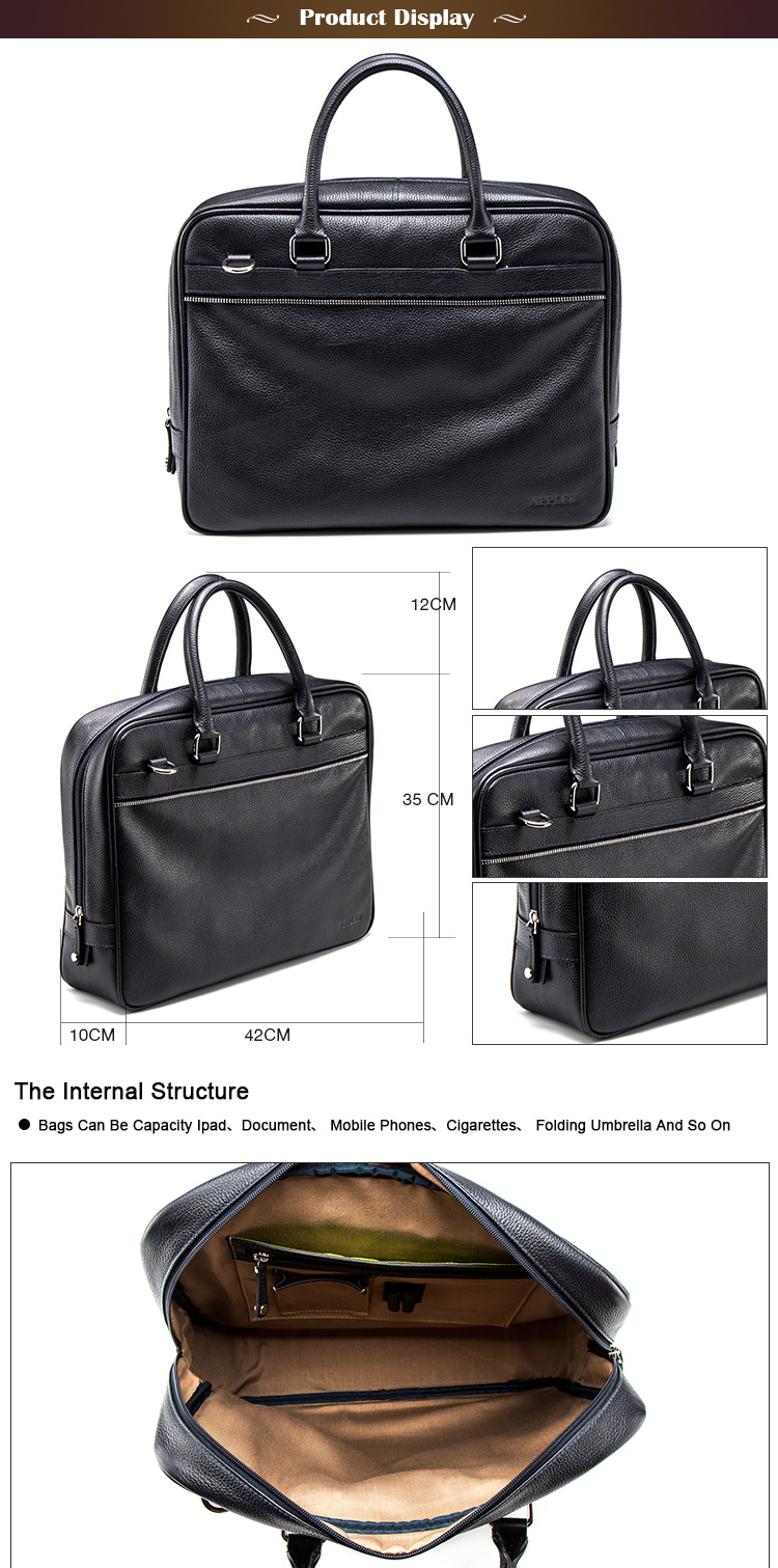 Top10 Best Selling Fashionable Waterproof Laptop Bag Luxury Quality Portfolio Briefcase
