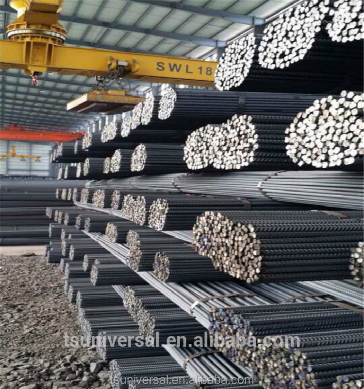 BS4449 Steel rebar, deformed steel bar, iron rods for construction