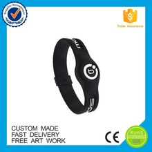 Cheap promotion gifts custom silicone adjustable wristband