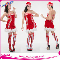 red hexinfashion christmas masquerade costume