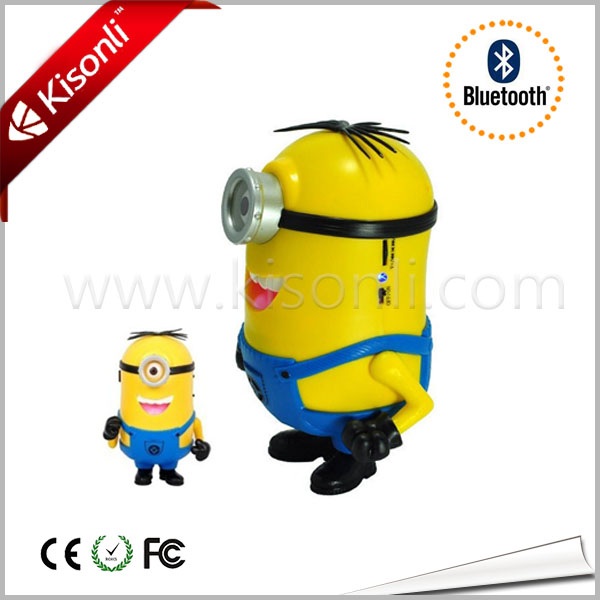 Portable Minion Mini Speaker For MP3,MP4,ipod,mobile phone