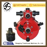 High pressure water suction pump 16 hp gasoline engine water pump water motor pump price