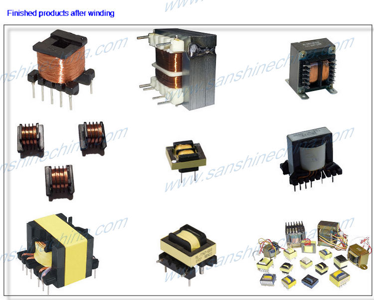 Multi-winding spindle cnc automatic transformer coil winding machine transformer winding machine