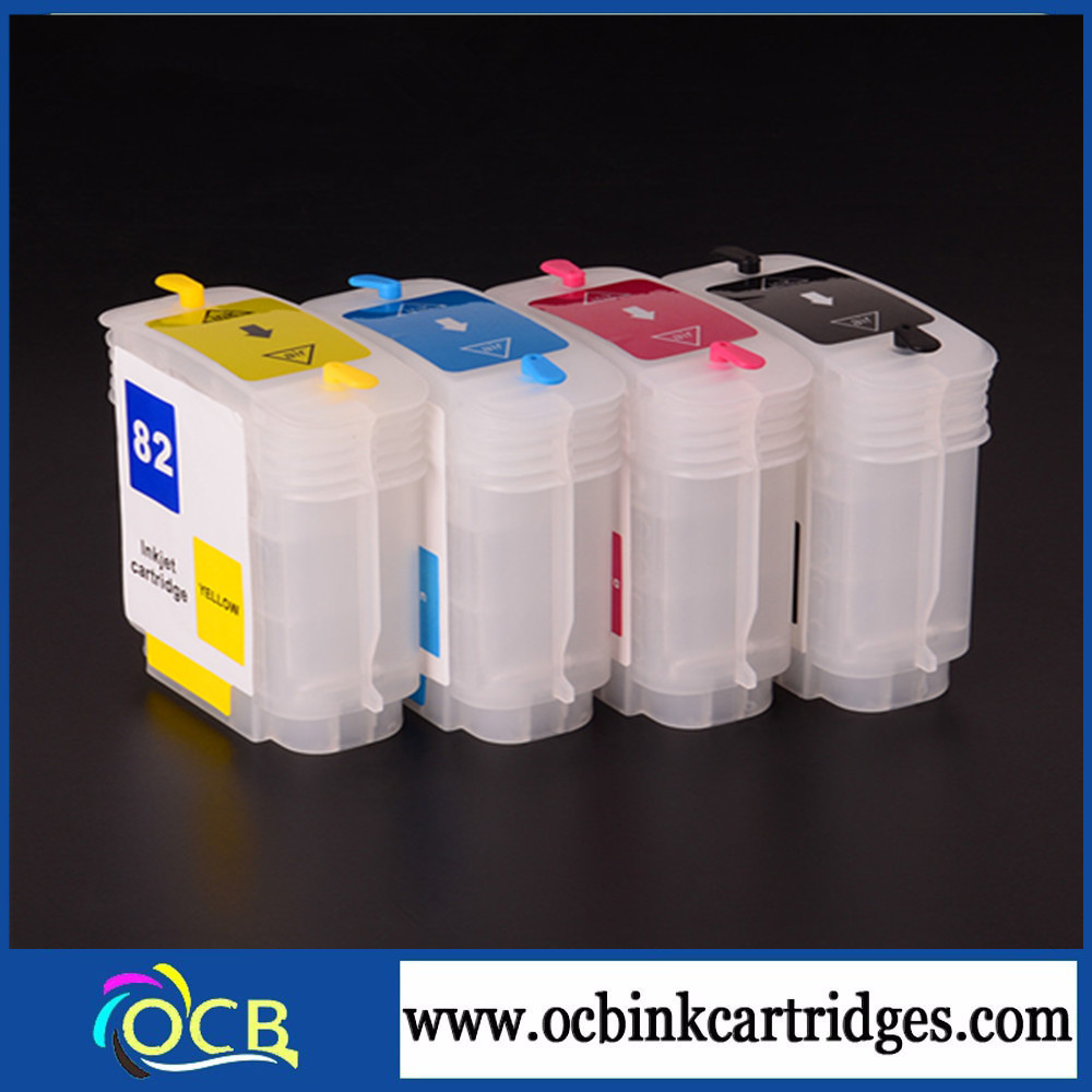 world best selling products!!! 69ml more stable for Hp500 100 refillble Ink Cartridge