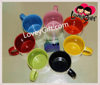 Sublimation 2tone Mug/Color Coated Mug /Inner & Outer Color mug