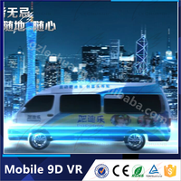 Here Now!China Unique Electric Minivan Mobile 9D vr For Sale