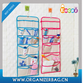 Encai Canva Double Side Storage Hanging Pouch For Socks Underwear