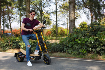 Chihui new model electric scooter Bossman-S popular in Germany